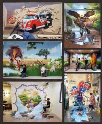 3D牆壁彩繪,專精彩繪的壁畫工作室,Tel:0955660115_圖片(1)