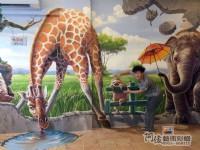 3D牆壁彩繪,專精彩繪的壁畫工作室,Tel:0955660115_圖片(2)