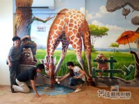 3D牆壁彩繪,專精的彩繪藝術工作者,Tel:0955660115_圖片(3)