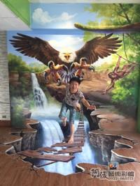 牆壁彩繪,3D彩繪,3D立體壁畫,牆面彩繪,壁畫,LINE ID: 559383,Tel:0955660115_圖片(3)